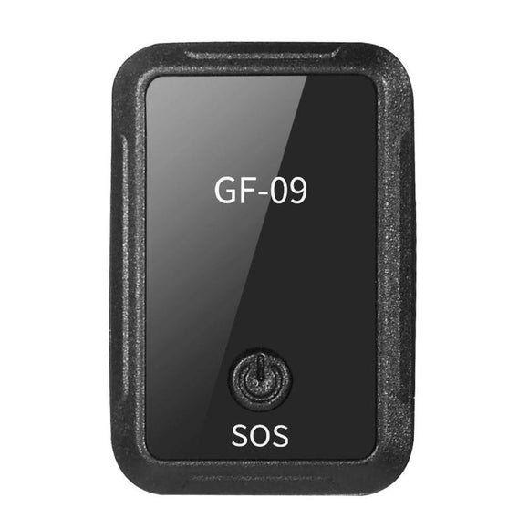 GF-09 PORTABLE MINI GPS TRACKER APP CONTROL ANTI-THEFT DEVICE LOCATOR MAGNETIC VOICE RECORDER FOR CAR MOTORCYCLE VEHICLE
