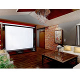 "100"" Electric Motorised Projector Screen TV +Remote"