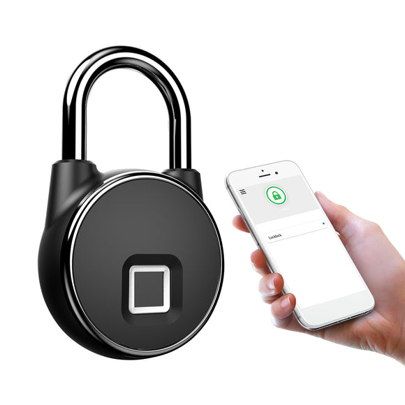 WATERPROOF INTELLIGENT BLUETOOTH FINGERPRINT LOCK PADLOCK