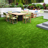 Primeturf Synthetic 40mm  0.95mx5m 4.75sqm Artificial Grass Fake Turf 4-coloured Plants Plastic Lawn