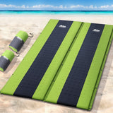 Weisshorn Self Inflating Mattress Camping Sleeping Mat Air Bed Pad Double Green
