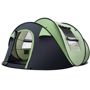Weisshorn Instant Camping Tent 4-5 Person Pop up Tents Family Hiking Dome