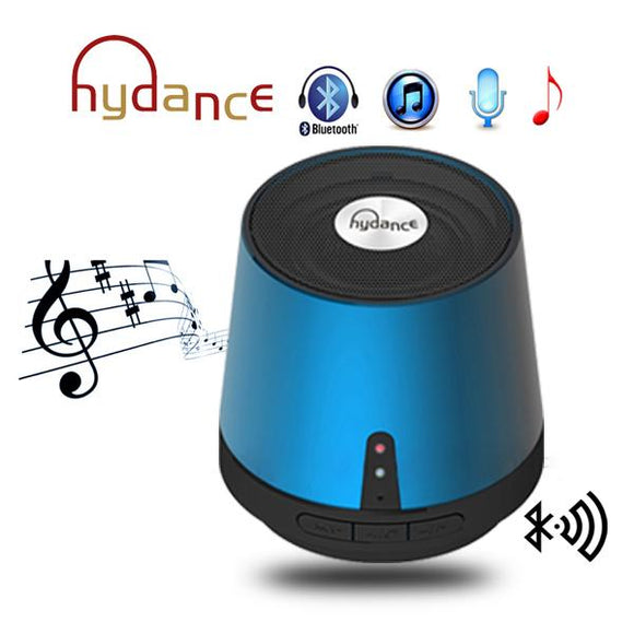 HYDANCE MAXI SOUND MP3 Player with Mini Bluetooth Speaker & Power Bank  - BLUE