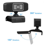 A15 : 1080P FULL HD USB WEBCAM WITH BUILD IN NOISE ISOLATING MIC.
