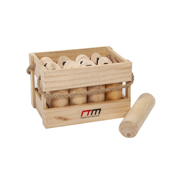 Number Toss Wooden Set Outdoor Games with Carry Case
