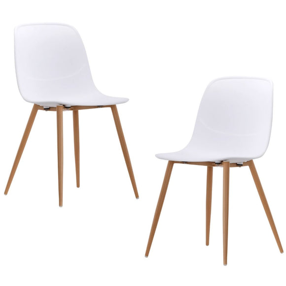 Erin White Versatile Dining Chair Set of 2