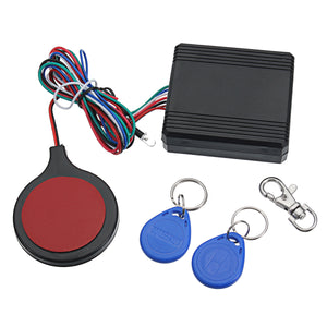MOTORCYCLE ALARM SECURITY ANTI THEFT RFID HIDDEN LOCK IC CARD SYSTEM
