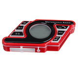 RED MOTORCYCLE HANDLEBAR BLUETOOTH 5.0 AUDIO SYSTEM FM RADIO STEREO AMPLIFIER SPEAKER