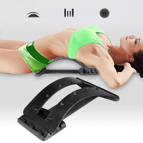 Backbone Stretcher Back Massage Magic Stretcher Fitness Equipment Stretch Fitness Equipment Relax Lumbar Support Pain Relief