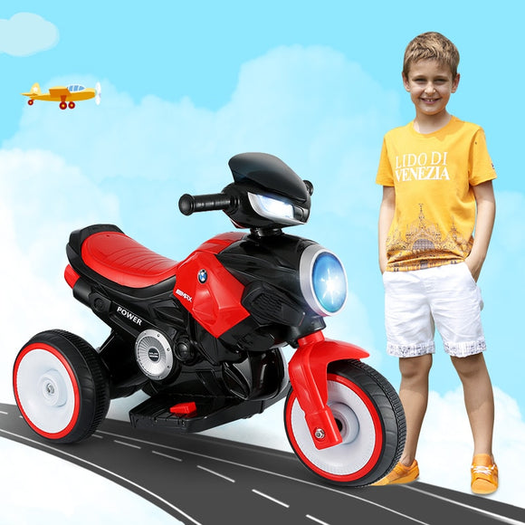 New Children Electric Motorcycle Ride On Cars Toy Car Can Sit On Baby Battery Motorcycle Bike For Kids Gift