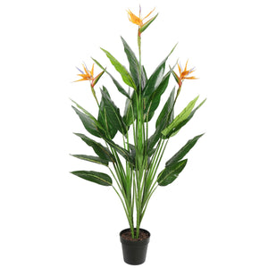 Artificial Potted 150cm Bird of Paradise Plant