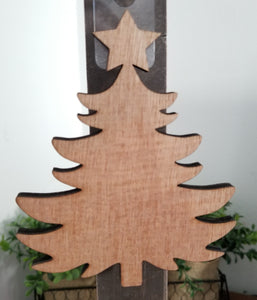 "Christmas Tree 5"" Laser Cut Shape"