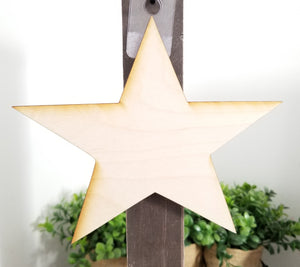 "Star 5"" Laser Cut Shape"
