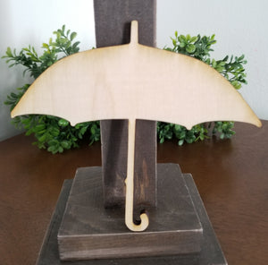 "Rain Umbrella 5"" Laser Cut Shape"