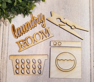 FREE SHIPPING Mini Shapes- LAUNDRY (3 Sets)