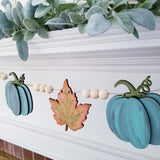 Pumpkin and Leaf Banner- DIY Kit- FREE SHIPPING