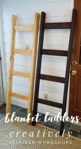 Blanket Ladder- Custom Order