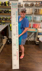 January 23rd Family Night- Growth Chart