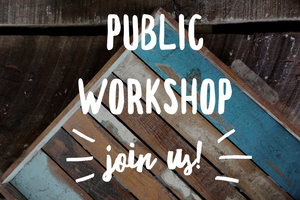 SOLD OUT! Public Workshop in Lexington, Ma March 7th @ 5pm