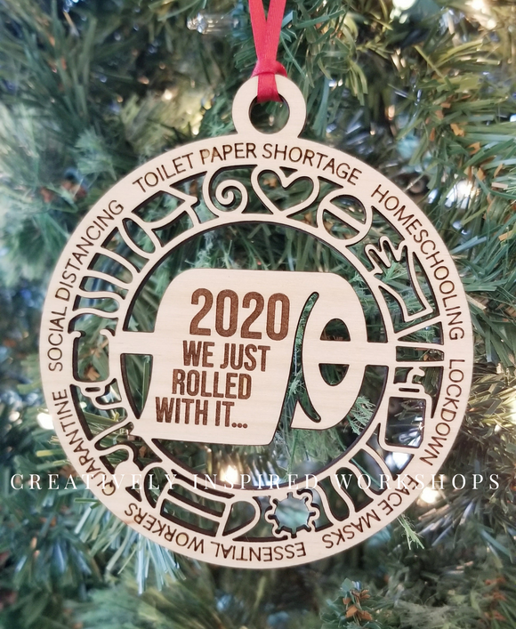 2020 Just Roll with it Ornament