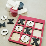 Mini Tic Tac Toe Game Board DIY KIT Party Pack- FREE Shipping