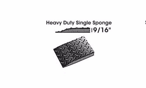 Handy Anti-Fatigue Mat 2' x 7' Single Sponge - The Carlson Company