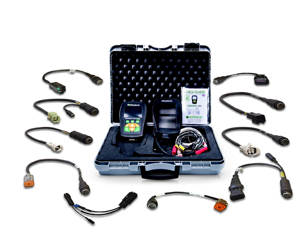 MOTORSCAN Diagnostic Scan Tool - Master Kit MemoBike MS6050DMM (FREE SHIPPING)
