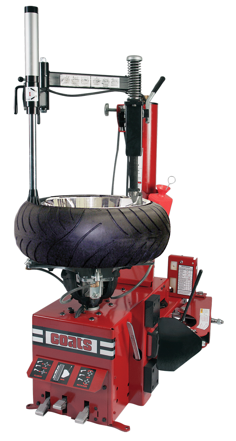 COATS RC-55/MC Motorcycle Tire Changer with RoBo Arm    (M/C, ATV, UTV, Auto, Truck)