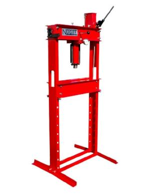 Nugier 20 Ton Hydraulic Press (Hand Operated)