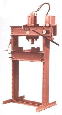 Nugier 40 Ton Hydraulic Press (Hand Operated) - The Carlson Company