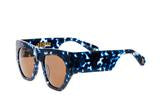 Age Eyewear  'Vantage' Blue Tort Sunglasses from Black & Dane, Westport