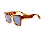 Age Eyewear  'Damage' Amber Tort Sunglasses from Black & Dane, Westport