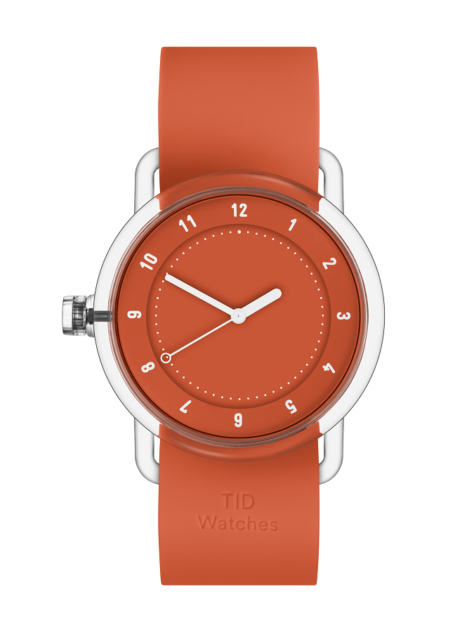 TID Watch - No.3 TR90 Orange from Black & Dane, Westport