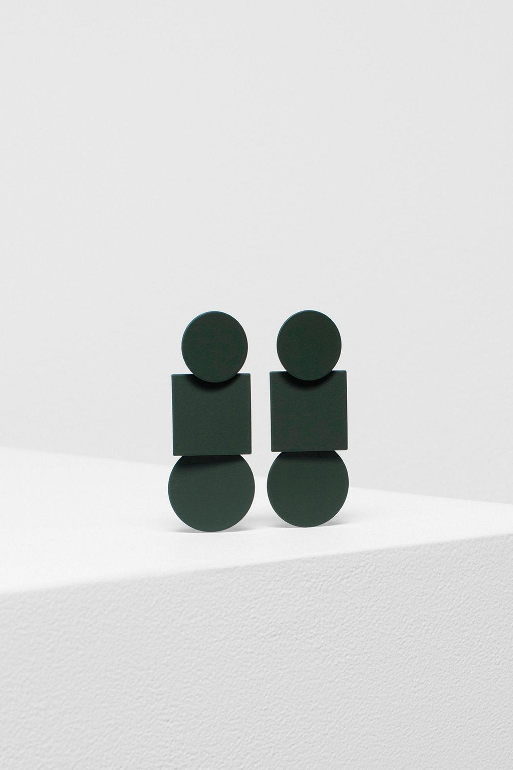 Elk 'Fala' Drop Earrings in Olive