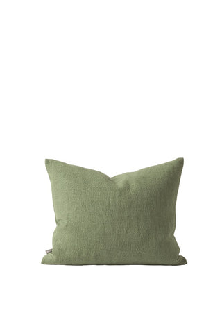 Citta Washed Woven Cushion Cover in Flax