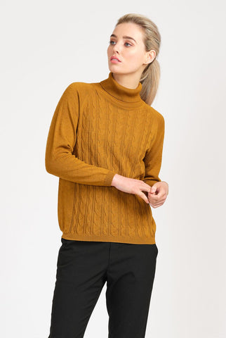 From 'Alma' Jumper in Amber