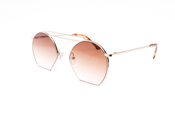 Age Eyewear Lineage sunglasses in Rose gold from Black & Dane in Westport
