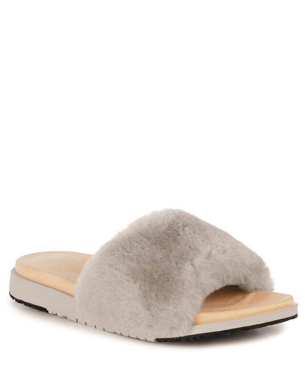 Emu 'Robe' Slipper in Grey