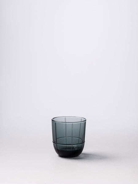 Citta 'Grid' Tumbler in Smoke Grey from Black & Dane in Westport, NZ