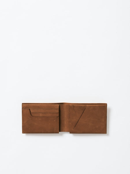 Men's Tan Leather Slimline Wallet