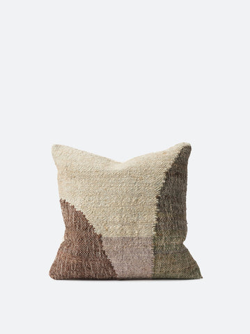 Citta 'Piha' Woven Cushion Cover in Pickle