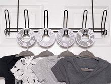 Load image into Gallery viewer, Baby Hangers and Closet Dividers (Clouds)