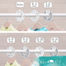 Load image into Gallery viewer, Baby Closet Dividers (Unisex Boho)