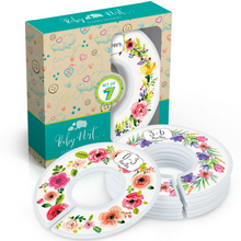 Load image into Gallery viewer, Baby Closet Dividers (Floral Bouquet)