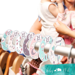 Baby Closet Dividers (Unicorn Fantasy)