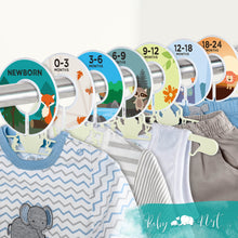 Load image into Gallery viewer, Baby Closet Dividers (Woodland Animals)