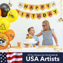 Load image into Gallery viewer, Construction Birthday Party Supplies (179 Pieces)