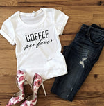 Women's Short Sleeve Coffee T-Shirt
