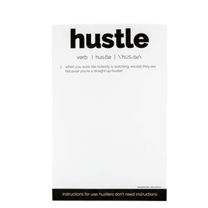 Hustle Notepad