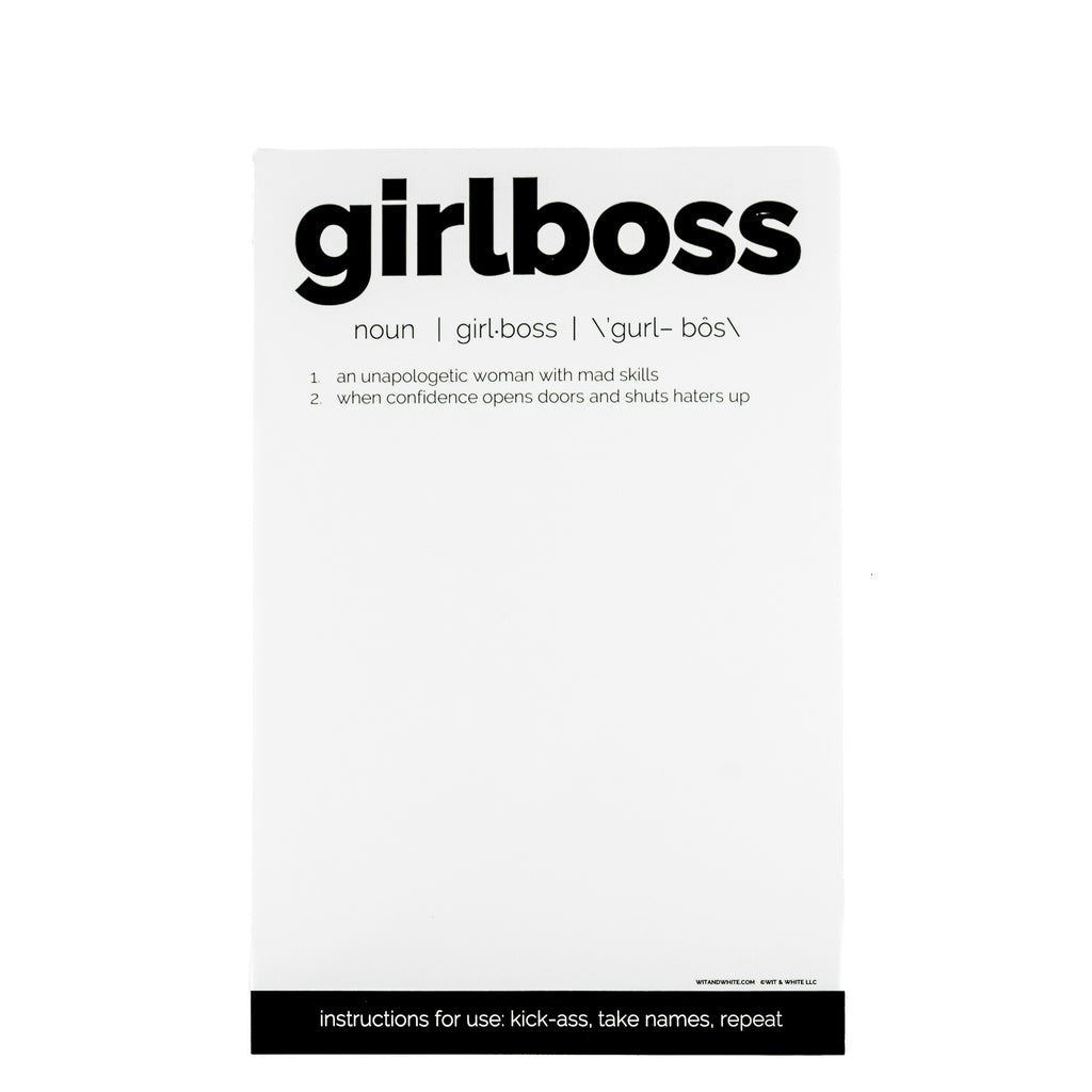 Girlboss Notepad